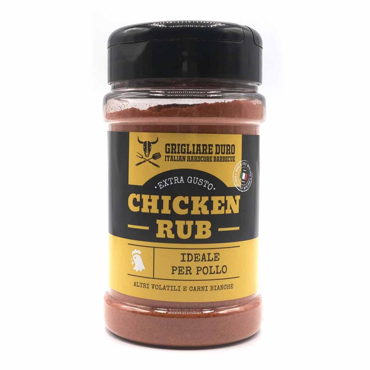 chicken rub per pollo grigliare duro
