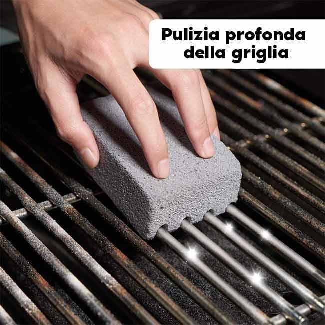 pietra pomice per barbecue