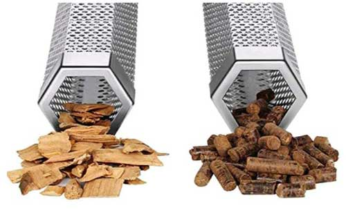 tubo affumicatore pellets e chips