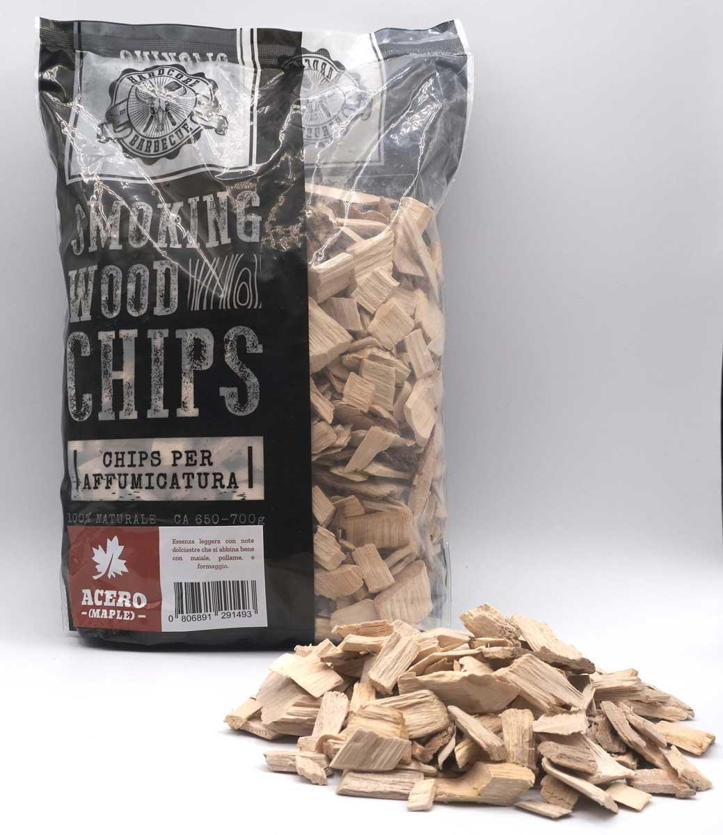 Maple Chips Acero Grigliare Duro