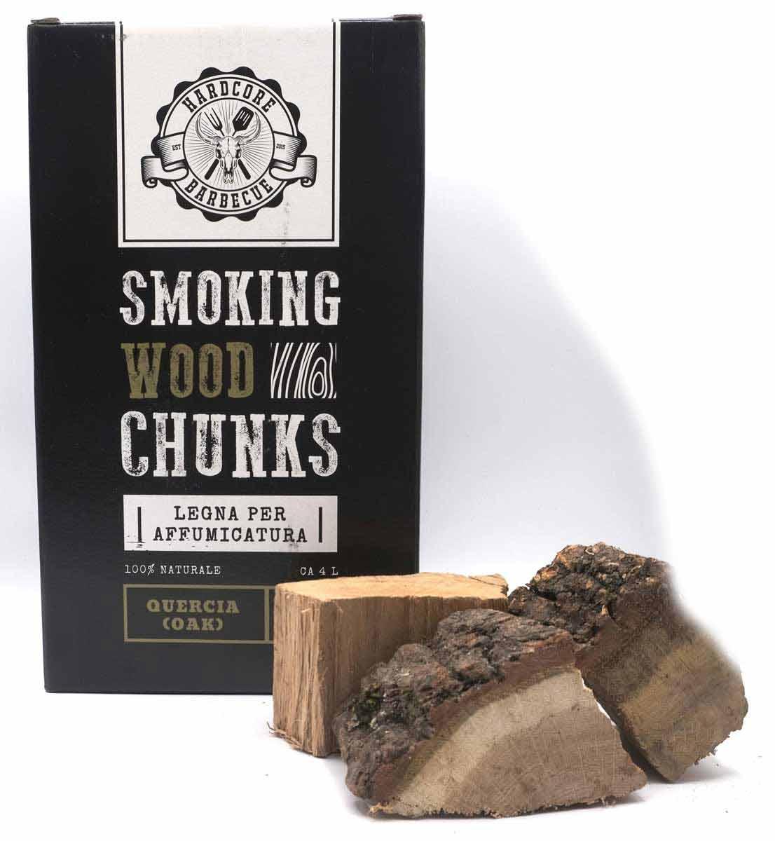 oak chunks quercia