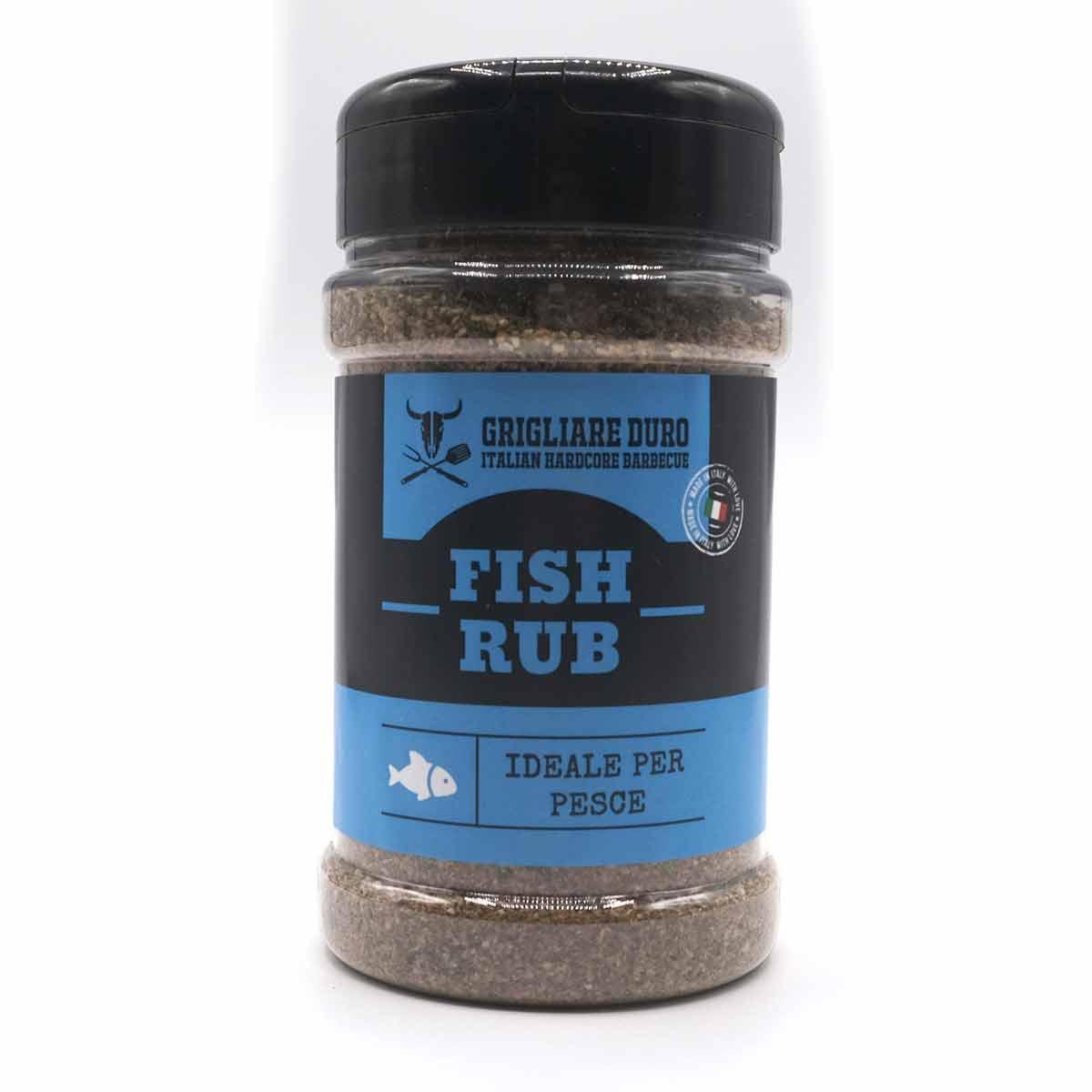 Fish Rub - Rub per pesce - 200 gr